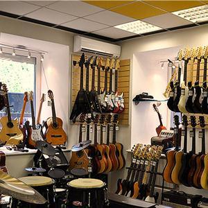 Музыкальные магазины Хлевного